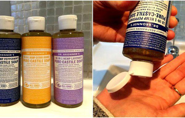 הסבון הטבעי לניקוי הגוף ולניקוי הבית שלכם