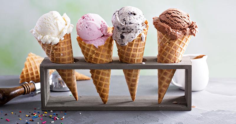 גלידה בטעמים