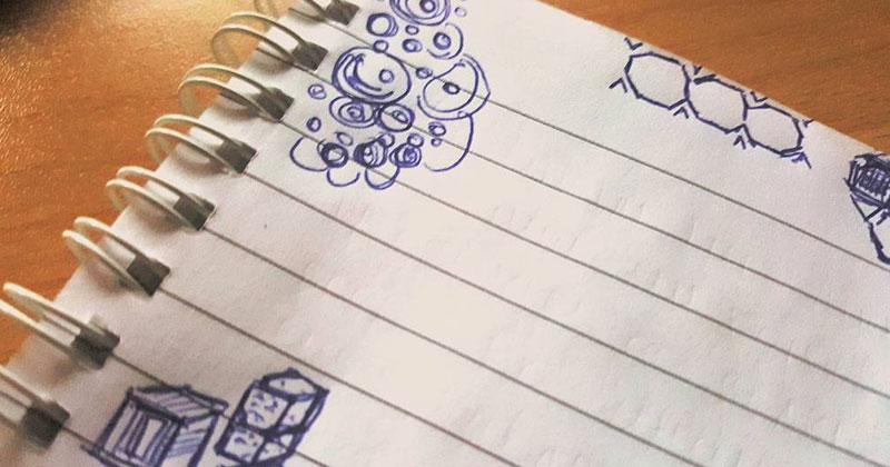 זו המשמעות של השרבוטים שאתם מציירים בזמן שיחה בטלפון