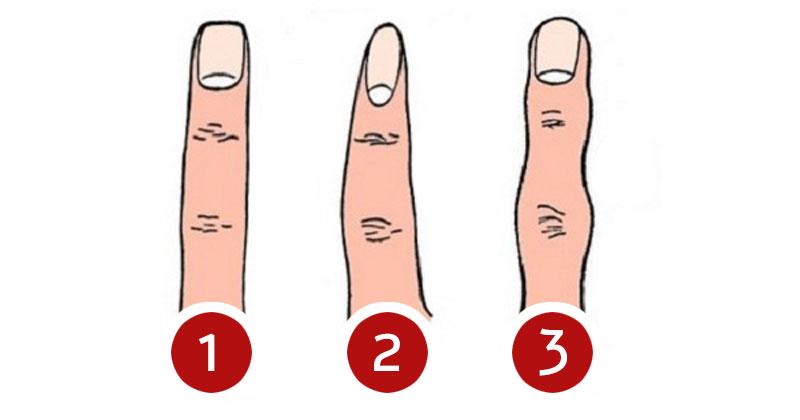 צורת האצבע שלכם חושפת דברים על האישיות שלכם
