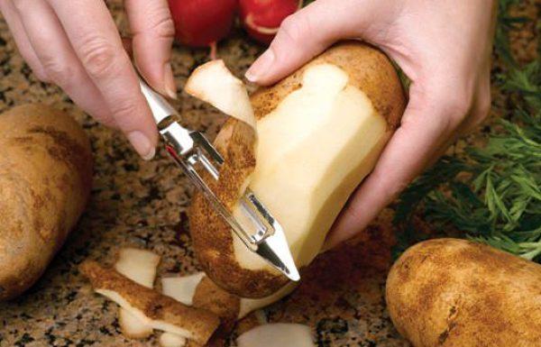 קליפות תפוחי אדמה אתם לעולם לא תזרקו אותן שוב אחרי שתקראו את זה!