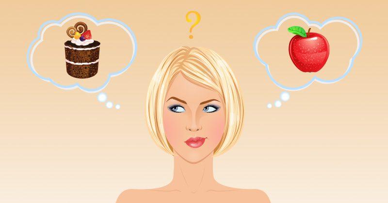 זה מה שגורם לנו לבחור בעוגייה על פני תפוח