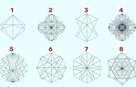 תבחרו צורה ותגלו כיצד המוח שלכם פועל