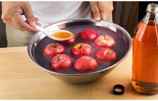 פירות וירקות, דרכים טבעיות להסרת חומרי הדברה