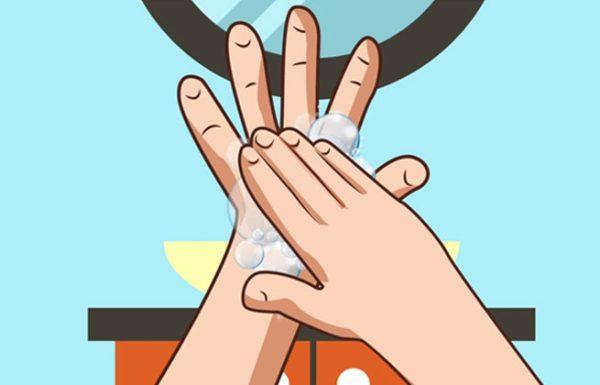 זו הדרך הנכונה לשטוף את הידיים שלכם