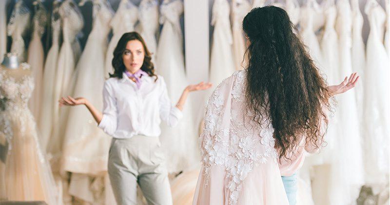 מה אומר עלייך הבד של שמלת החתונה שלך?