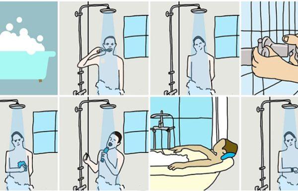 גלו מה הרגלי המקלחת שלכם אומרים על האישיות שלכם