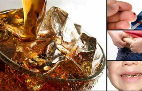 זה מה שקורה בתוך הגוף שלכם כאשר אתם שותים משקאות קלים או מוגזים