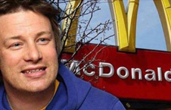 ההמבורגרים של מקדונלד'ס לא מתאימים לצריכת אדם, אומר השף ג'יימי אוליבר!