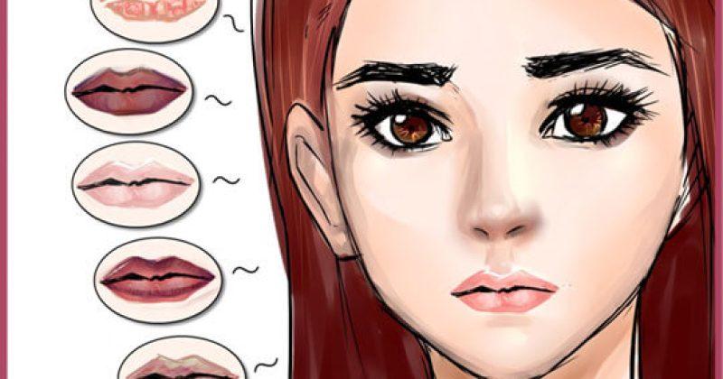 מה צבע השפתיים שלכם אומר על הבריאות שלכם?